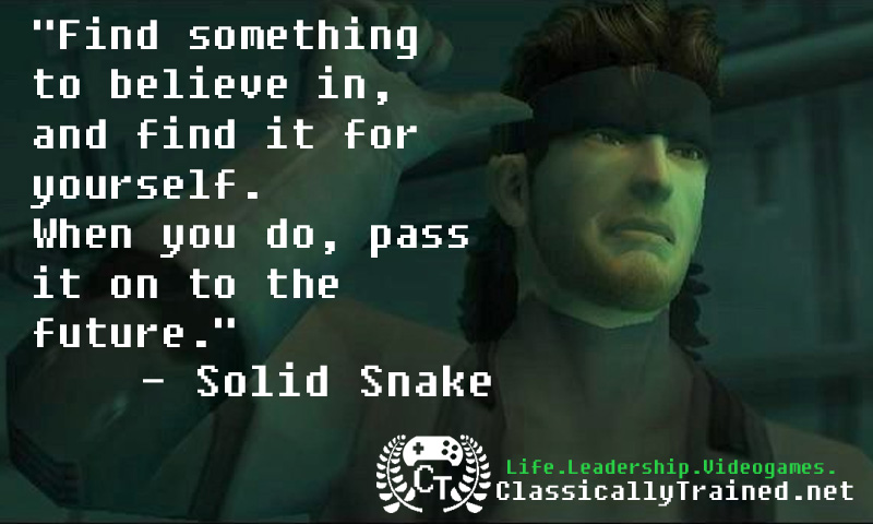 Video Game Quotes Metal Gear Solid 2 On Legacy Classicallytrained Net