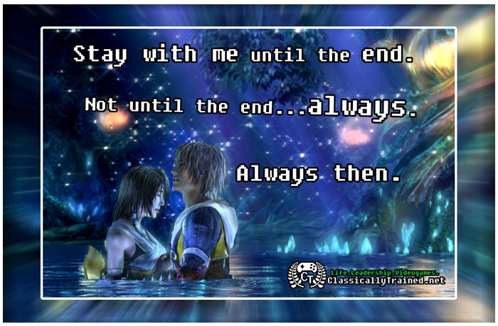 Video Game Quotes  Final Fantasy X On LoveVideo Game Love Quotes