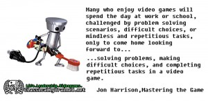quote video games work life leadership